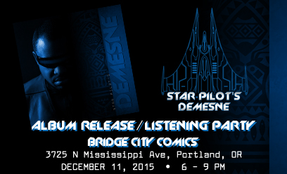 Star Pilot 3 Listening/Release Party w/Kielen King!