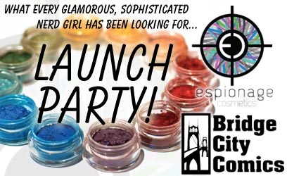 Espionage Cosmetics Launch Party!