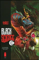BLACK SCIENCE #1 BY RICK REMENDER Ghost Variant