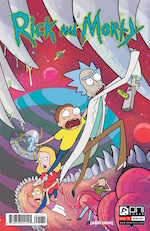 RICK AND MORTY #1<br>BRIDGE CITY COMICS STORE EXCLUSIVE VARIANT