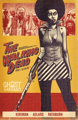 Walking Dead #101 Ghost Variant